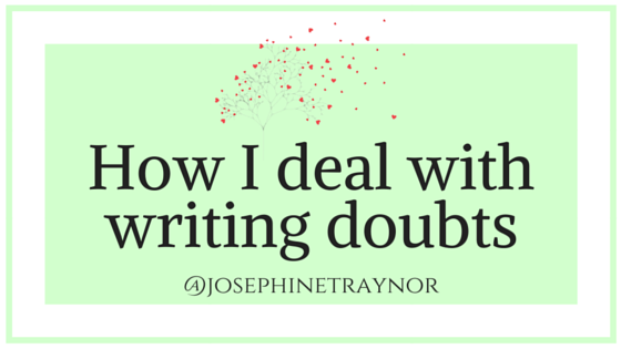 how I deal with writing doubts